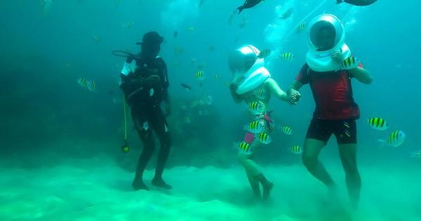 Sea walk andaman islands