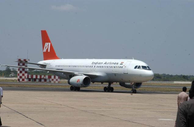 Indian Airlines flight to Andaman