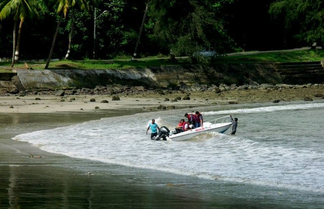 corbyns cove beach port blair andaman