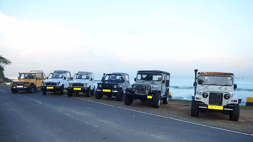 Jeep in Andaman