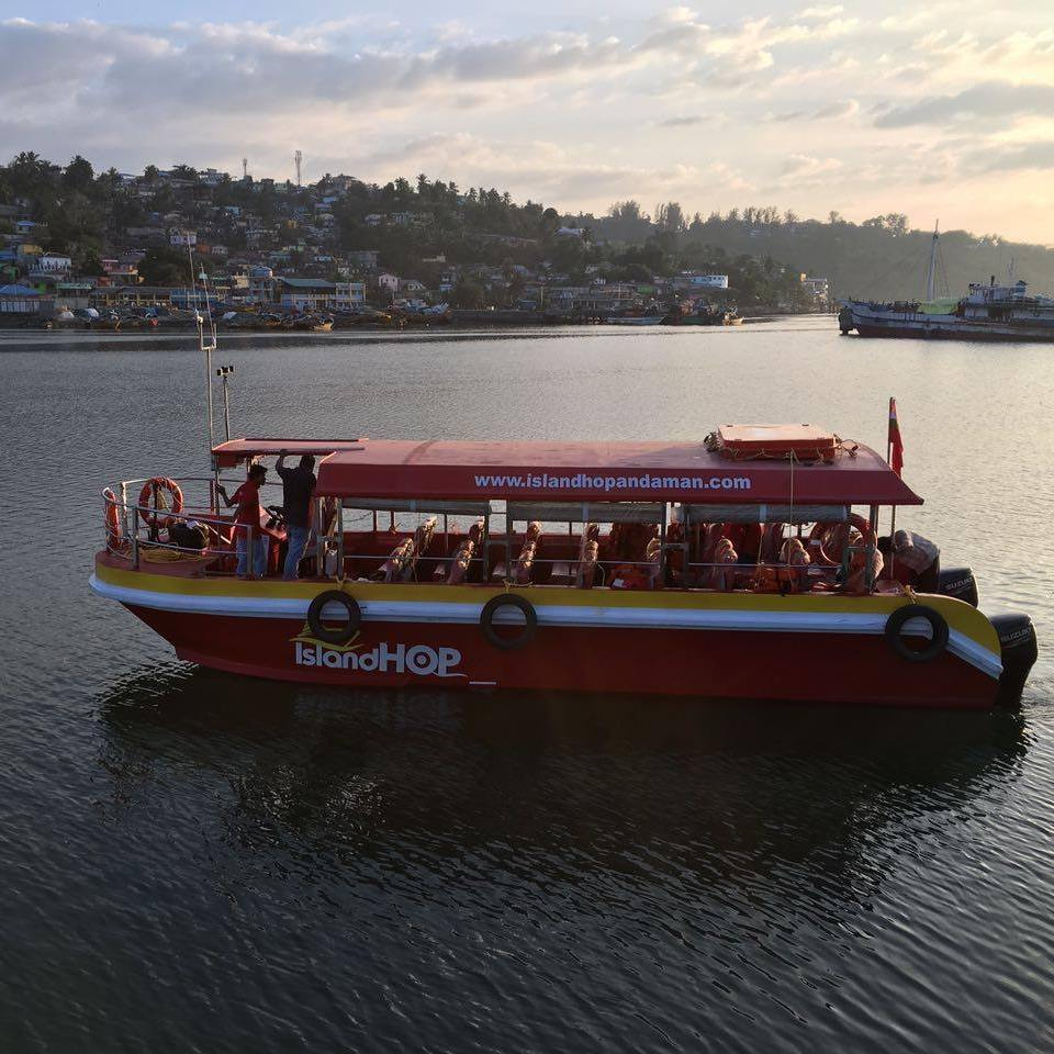 ross island boat
