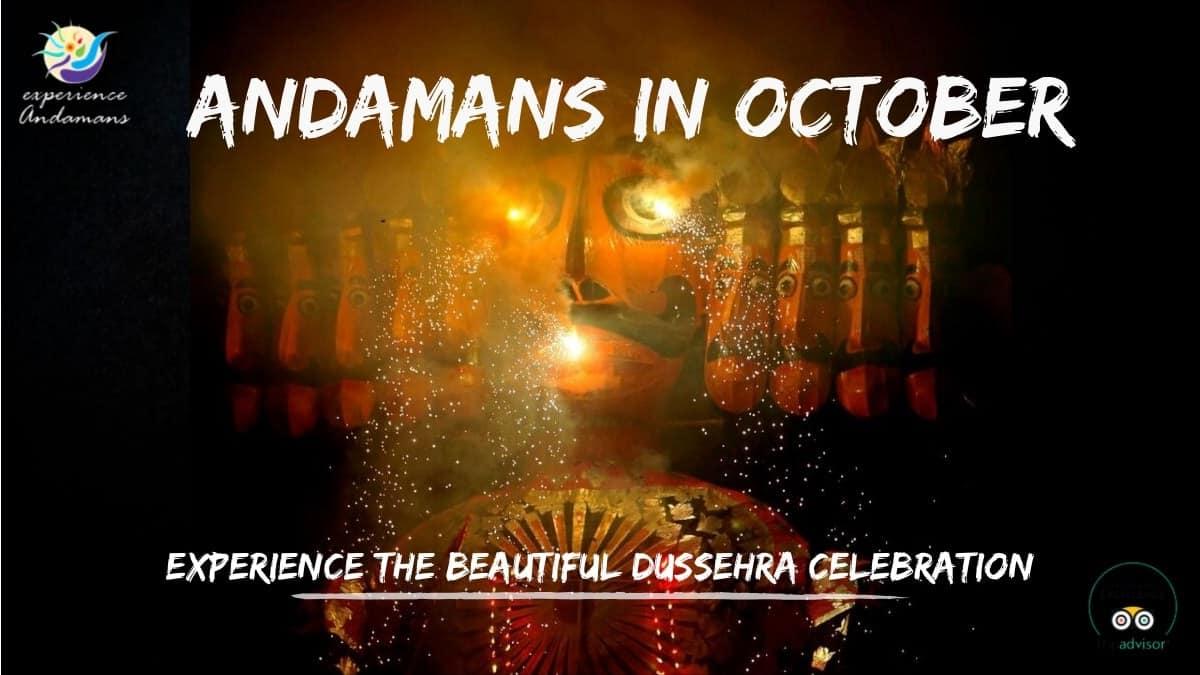 Andaman in October, November, December and January